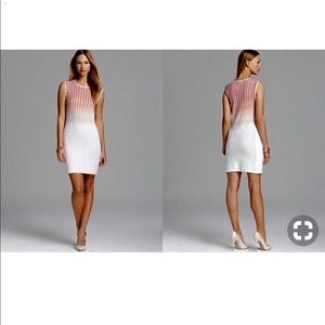 Magaschoni ombré shift dress
